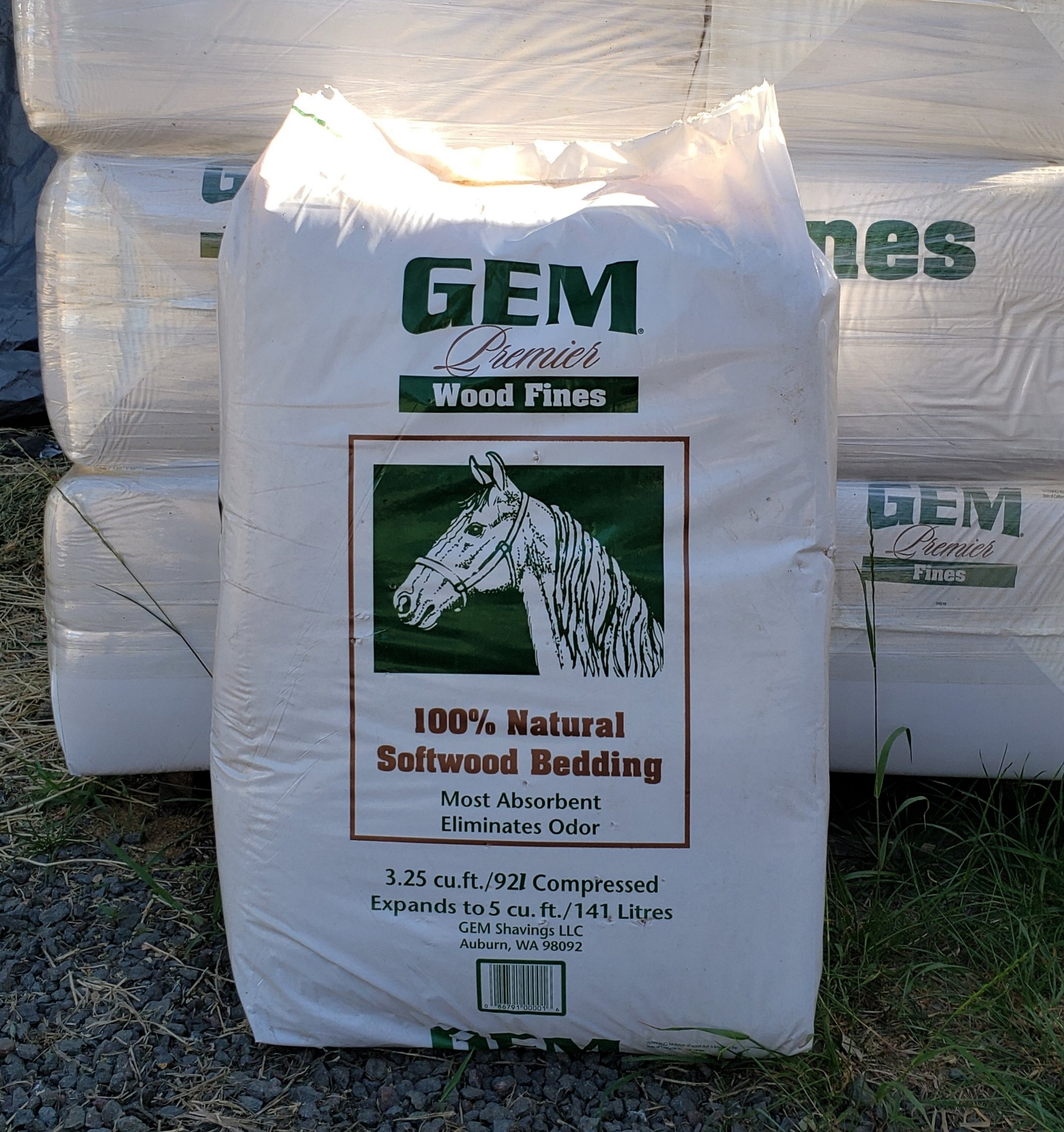 Available in Compressed Bales