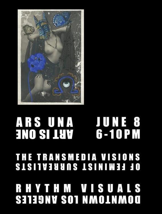 ARS UNA | ART IS ONE Feminist Surrealist Exhibit - Artist: NARA collectiveOpen: June 8, 2019