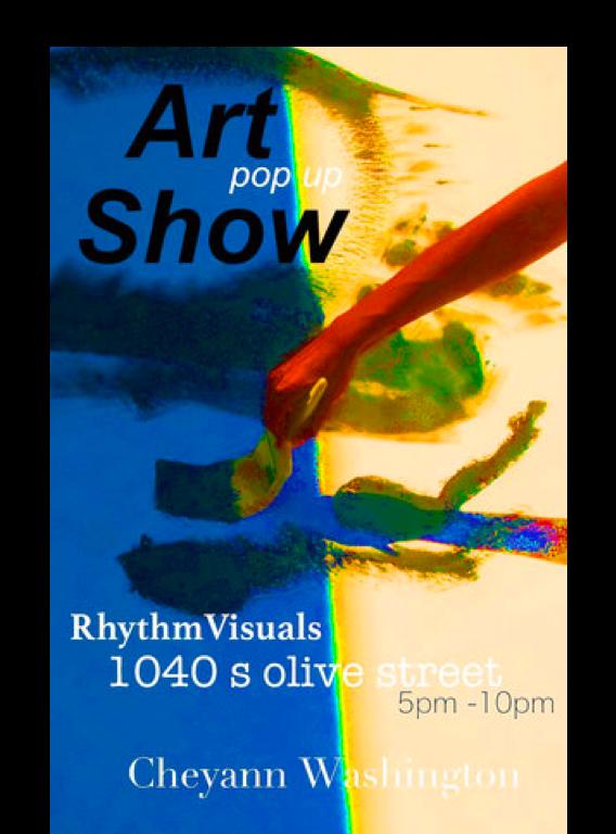 CHEYANN WASHINGTONPop Up Art Show - Artist: Cheyann WashingtonOpen: May 2, 2019