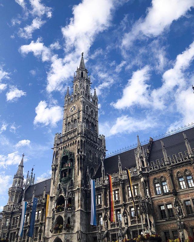 Bavarian skies, I see you.