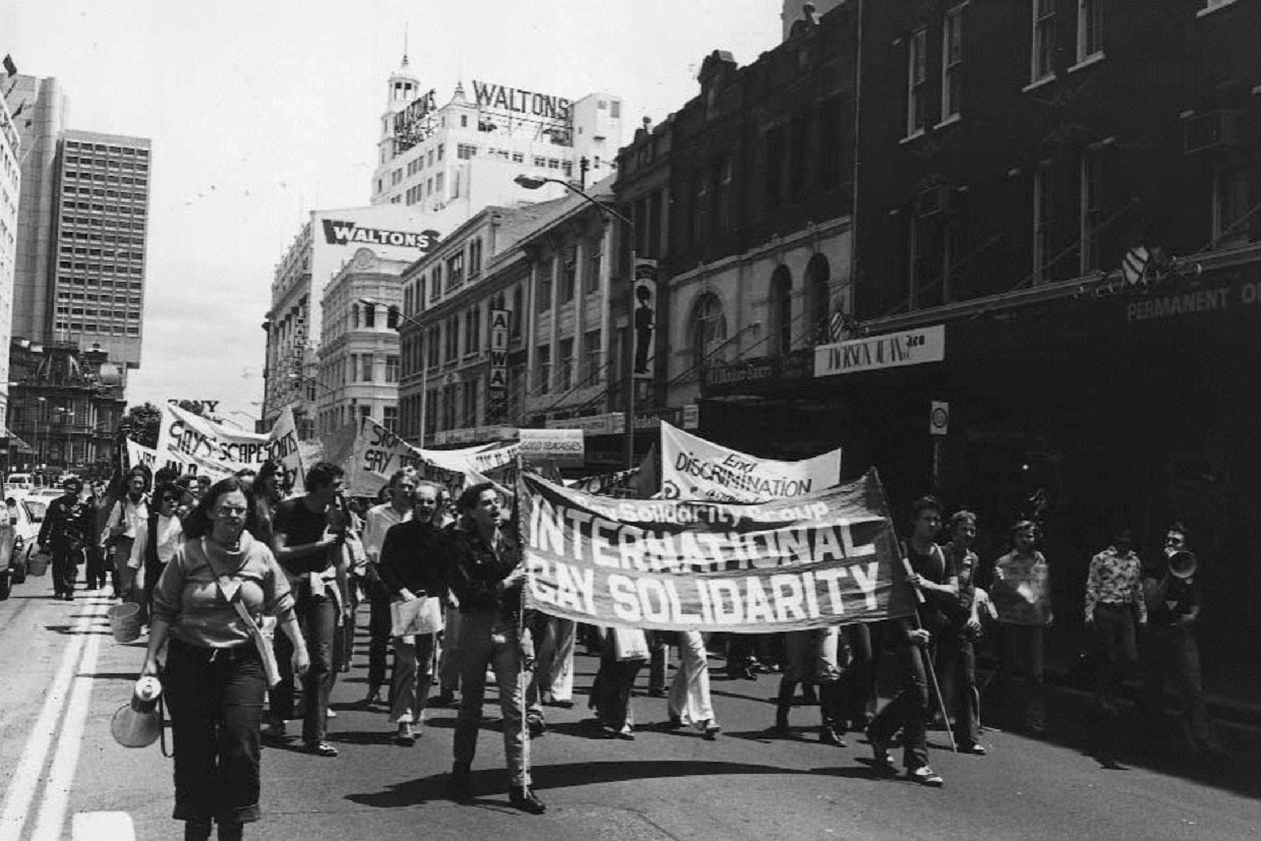 INTO THE STREETS - Explore Sydney's queer past through the Sydney Culture History Walks app Download here…