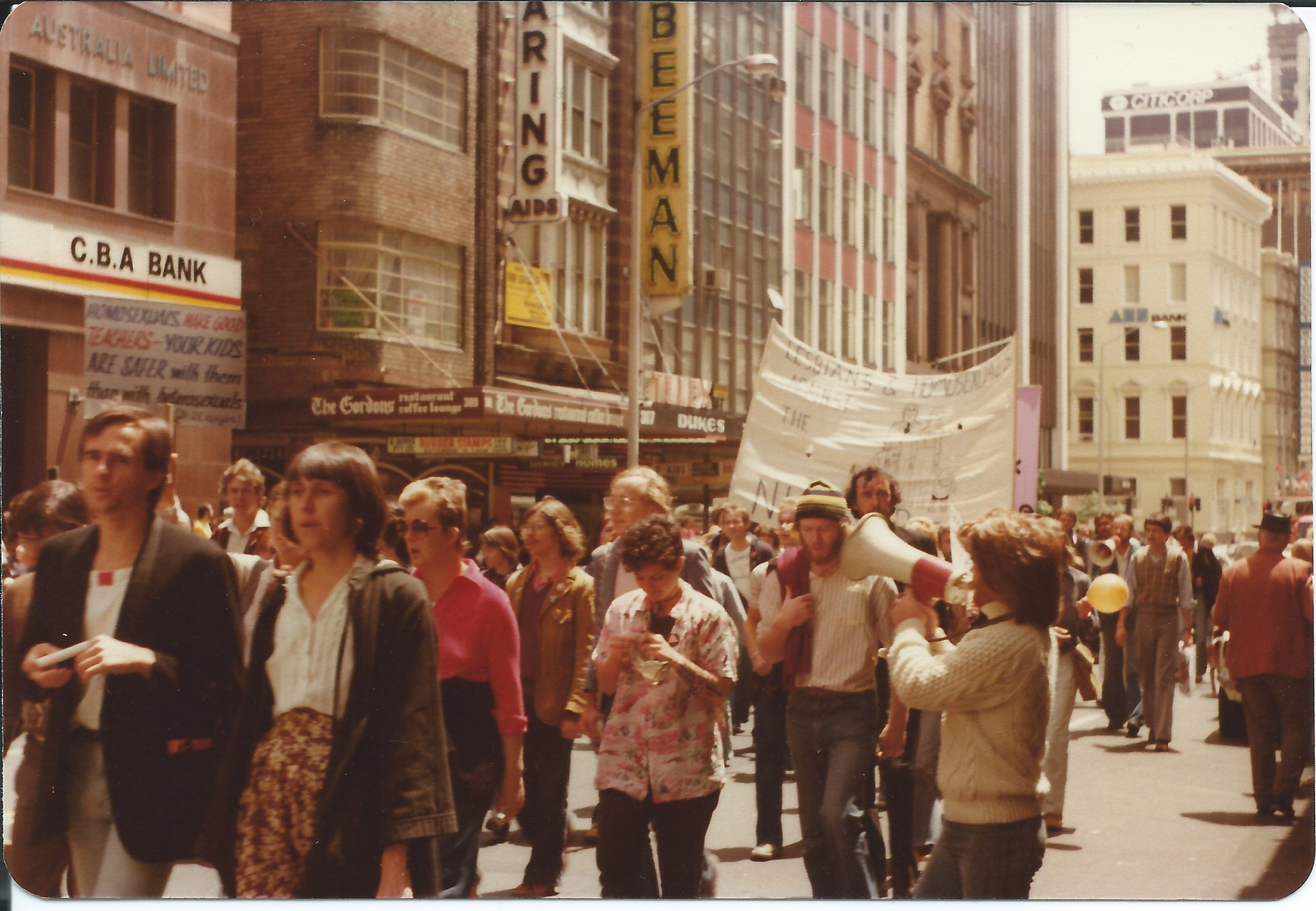 PIONEER NAMES - We are proud of the rich history of LGBTIQ Sydney. Our Pioneer Names project pieces together some of the giants of Sydney's struggle for rights and records the names of those who organised, protested and called out discrimination. Find out more here