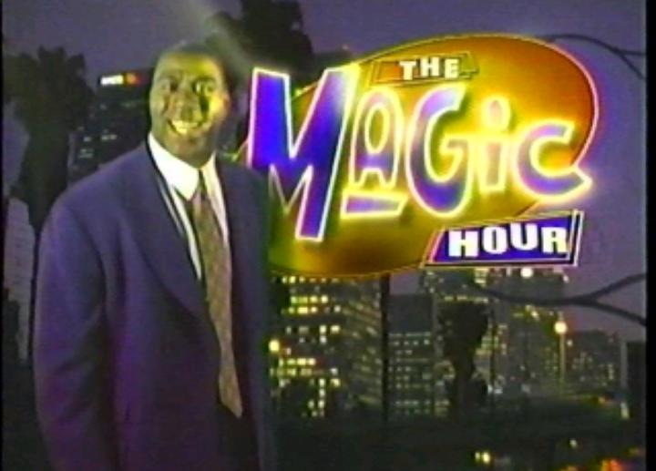 Before hiring LeBron James, Magic Johnson hired Jimmy to be his announcer on Magic's late night Fox talk show in 1998. Jimmy also got to perform in the occasional comedy skit.