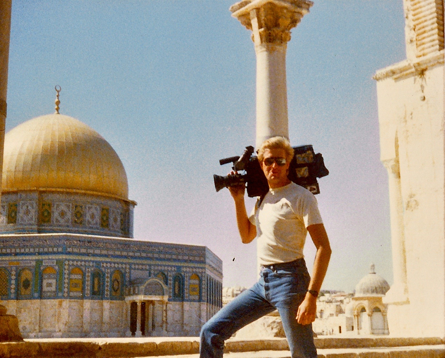 Body fat and muscle mass were of no interest to Jim in the late 80's. Jerusalem's Dome of the Rock was.