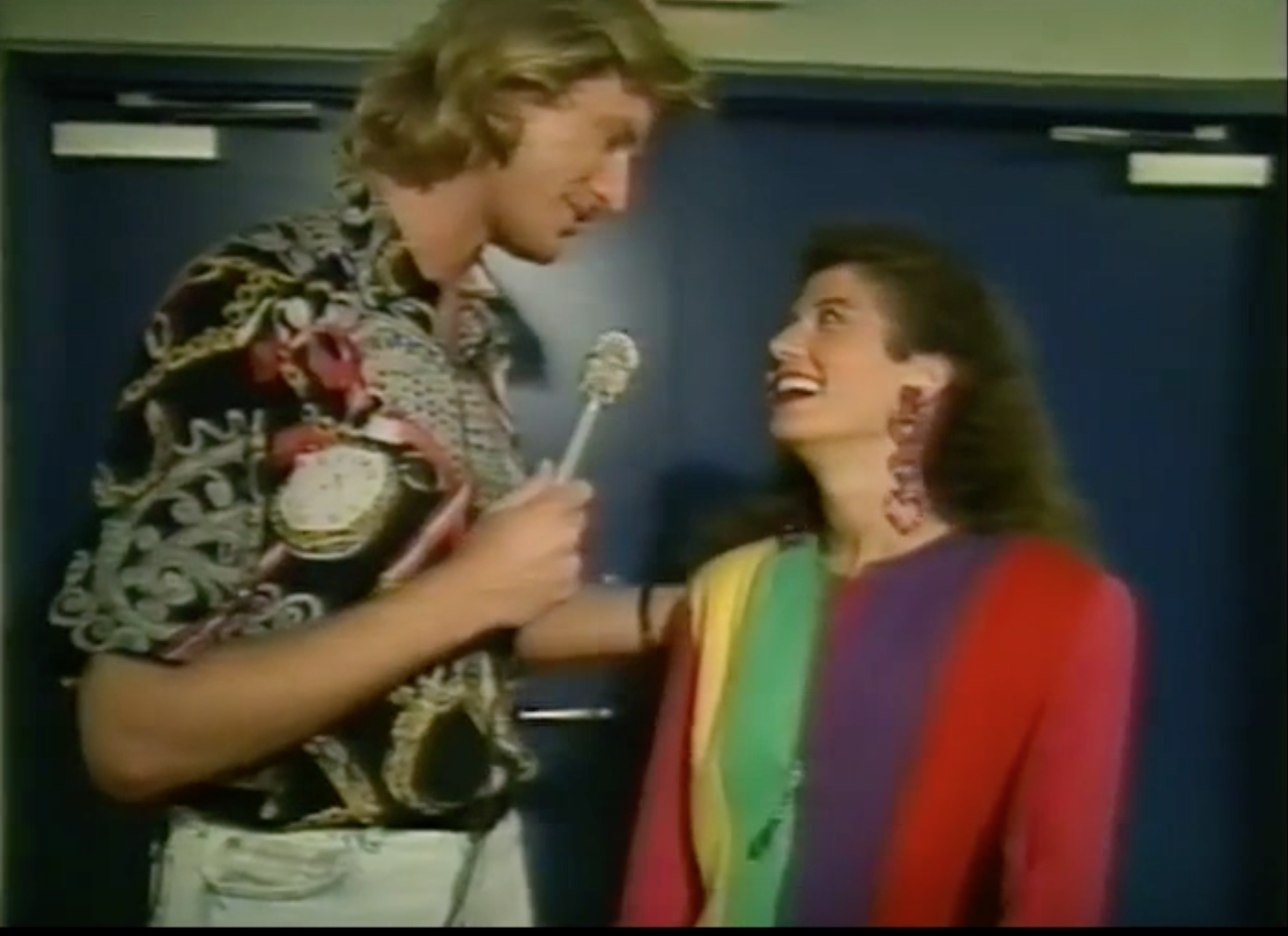 Jim has had the honor of doing some 5 or 6 shows with Amy Grant, including this On the Road Special in Minneapolis for the Family Channel in 1991.