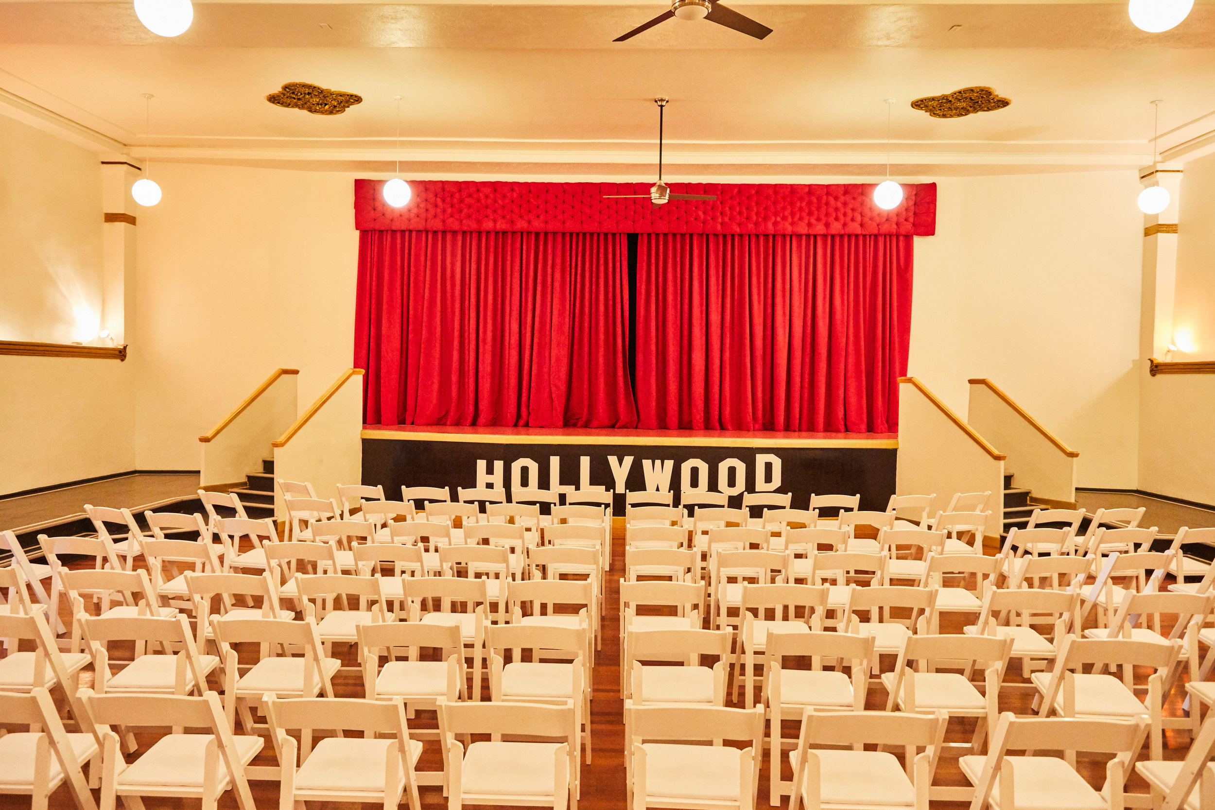 HOLLYWOOD THEATER - 3,183 sq. ft. | Capacity: 157