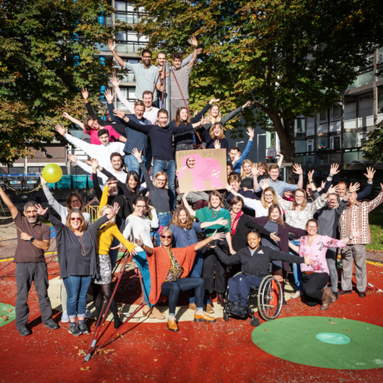 Elephant Says Hi  aims to connect residents of Elephant & Castle through welcoming and inclusive spaces and initiatives.   www.elephantsays-hi.com