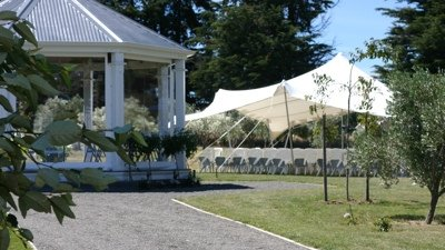 Brodie Estate Vineyard   142 Dublin St, Martinborough Capacity: Marquee Ideally suited for Weddings  Map