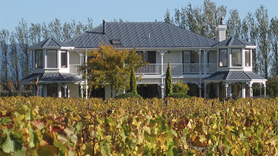 Lismore House   55 Omarere Rd, Martinborough Capacity: Various / Marquee Ideally suited for Weddings  Map