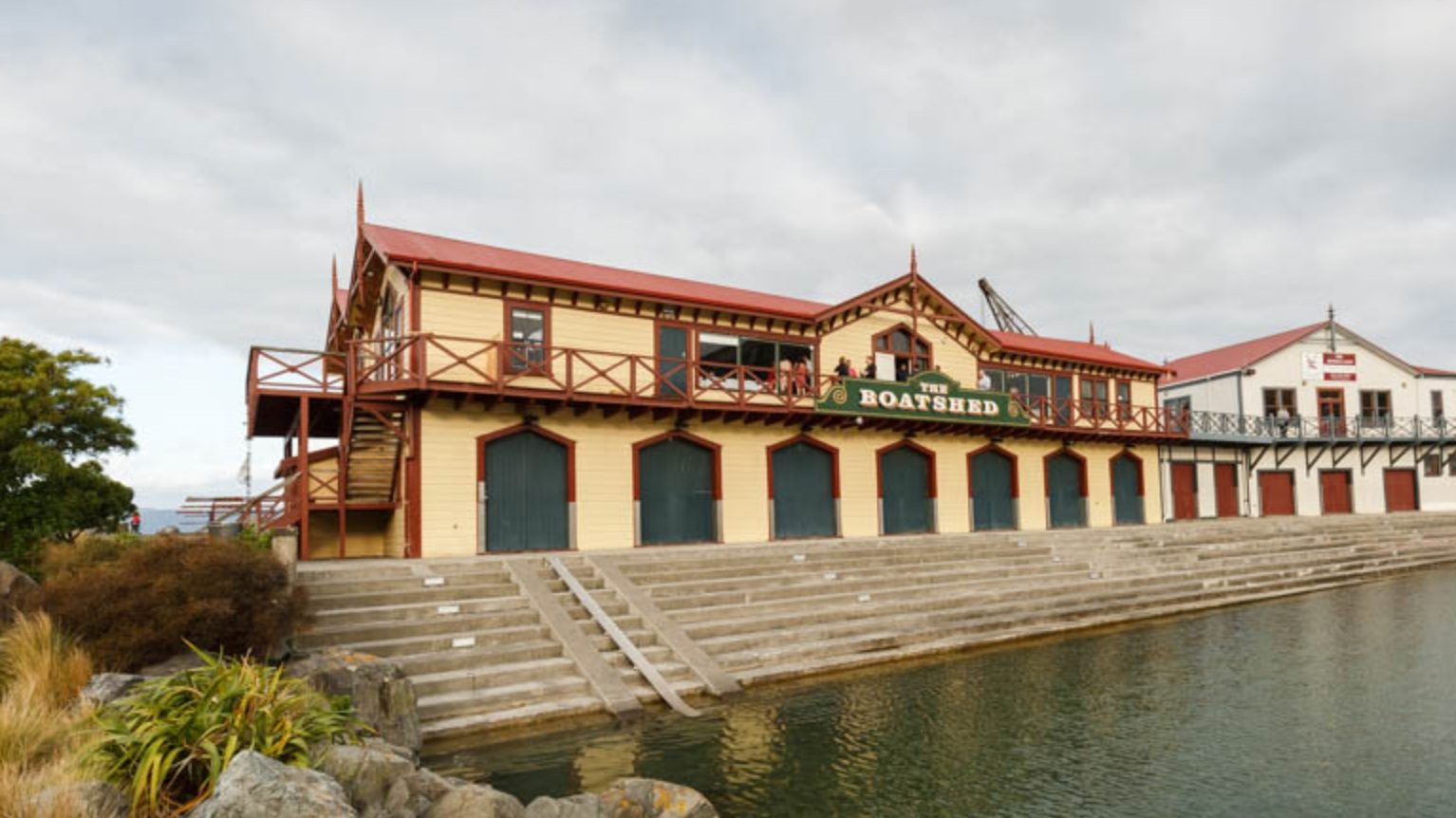 Boatshed   Taranaki Street Wharf, Wellington Waterfront Capacity: 130 seated; 350 standing Ideally suited for Weddings, private parties and corporate events  Map