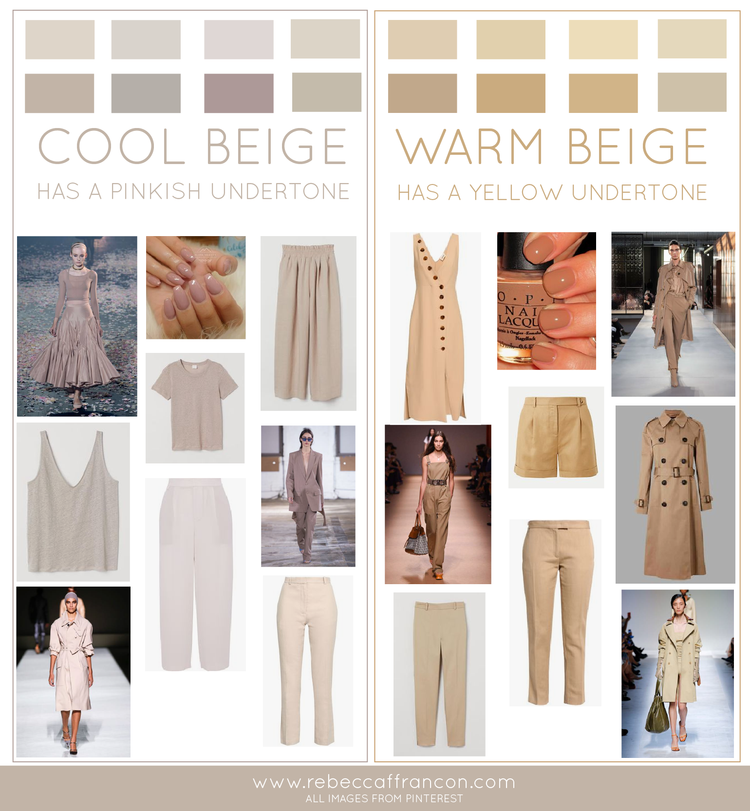 COOL OR WARM BEIGE