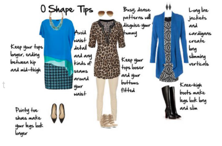 O SHAPE TIPS