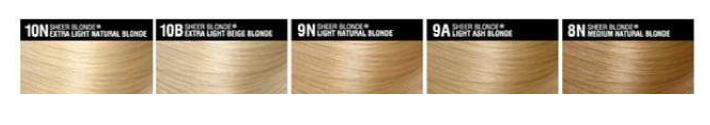 SUBLIME hair colours