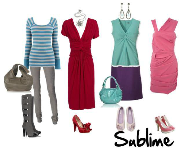 examples of SUBLIME outfits