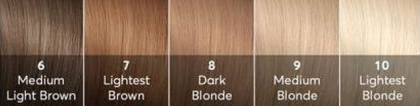 INTRIGUING HAIR COLOURS