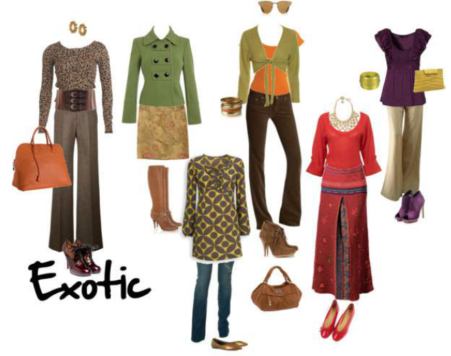 examples of EXOTIC outfits