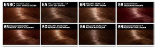 EXOTIC hair colours