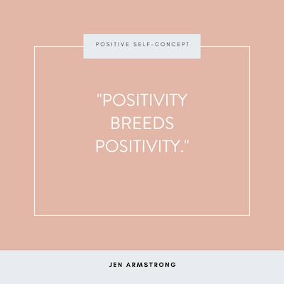 Here Mindful Parenting and Positive Self-Concept: Positivity Breeds Positivity