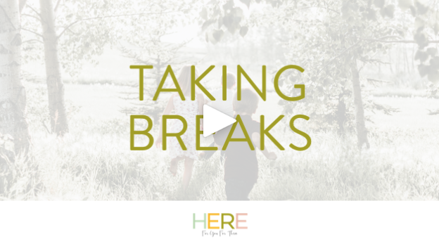 Here For You For Them London: Mindful Parenting and Taking Breaks