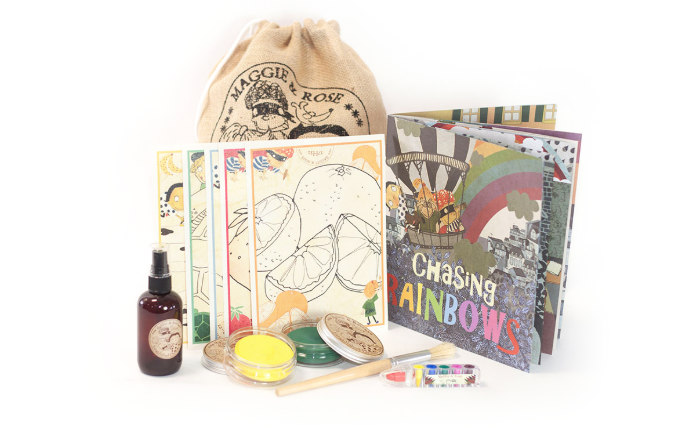 """Maggie & Rose """"Make"""" Collection - Making any and all types of art is one of the most creative, mindful activities for children (and adults) to do. We love the beauty of Maggie & Rose and their collection of supplies to help create your next masterpiece!"""
