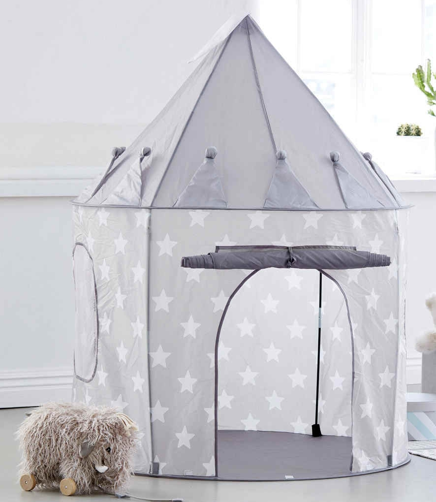 """Starry Play Tent, Nordic House - """"Make space for imagination and magic - two of the greatest gifts we can give our children, especially at Christmas!"""" ~ Perfect words from Nordic House on their Instagram page. We love tents and teepee's for children for exactly this reason and even had a """"Relaxation Corner"""" for our Om:Pop Mindful Pop-Up at Melcombe Primary School in Fulham."""