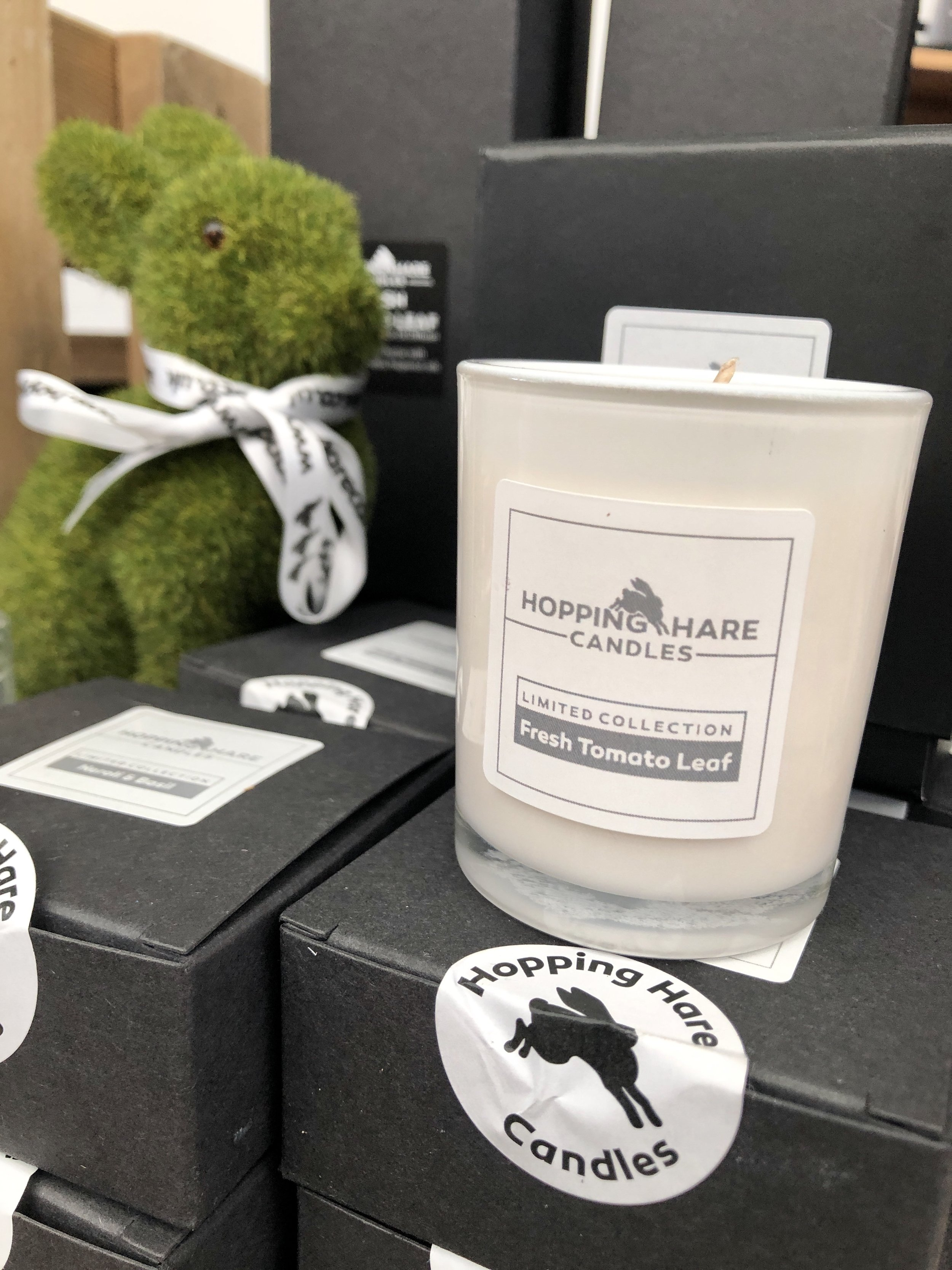 Hopping Hare Candles