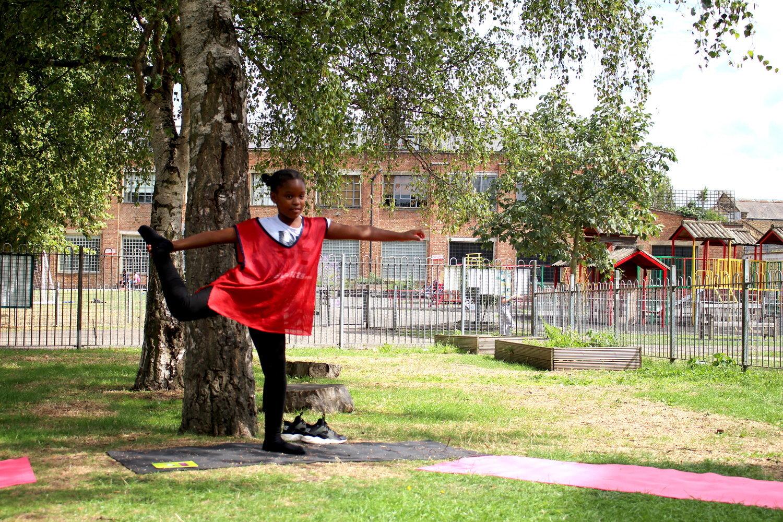 Children's Yoga with  ProjectYogi  and  CEF & Lyncx