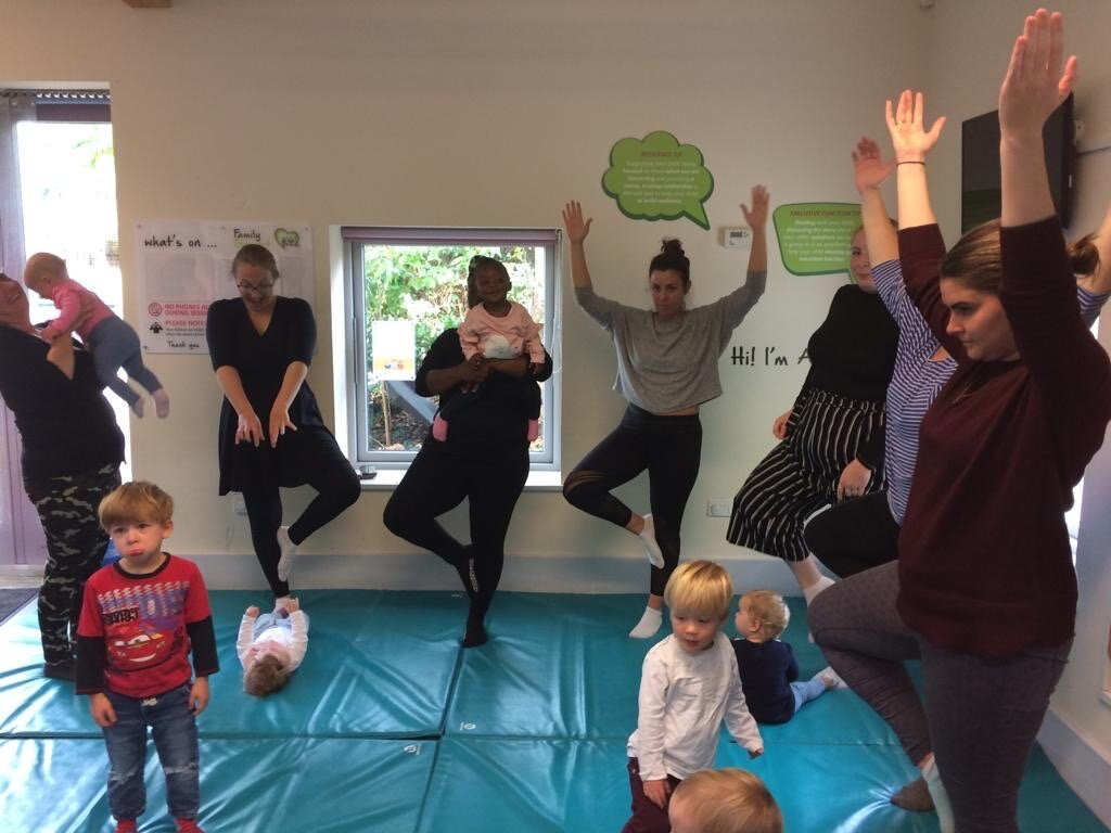 Mindful Parenting Yoga and Brain Building with Family Support Hammersmith and Fulham