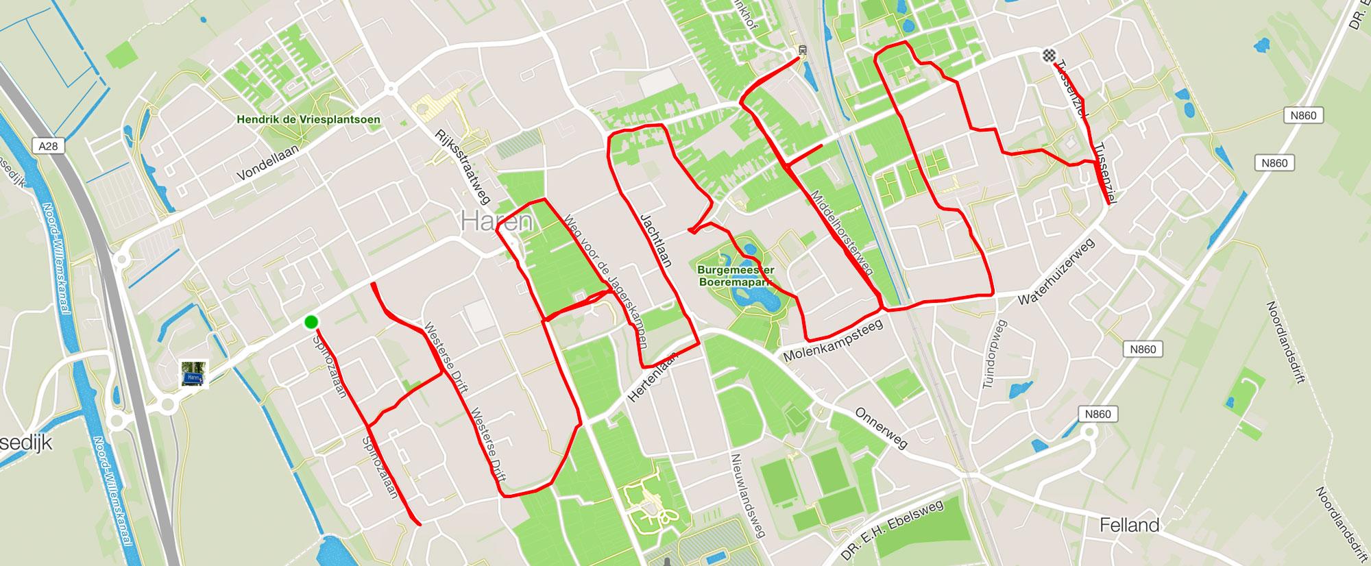 Haren Running