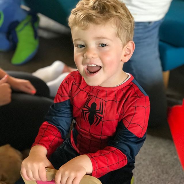Have you been to @playroombylittlelunches ?? Spider-Man had so much fun ... yummy treats for lunchtime too. Pop along and say hello to the team. They are super friendly ❤️
