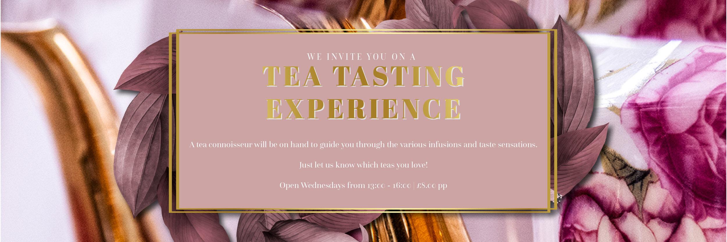 tea tasting Sussex