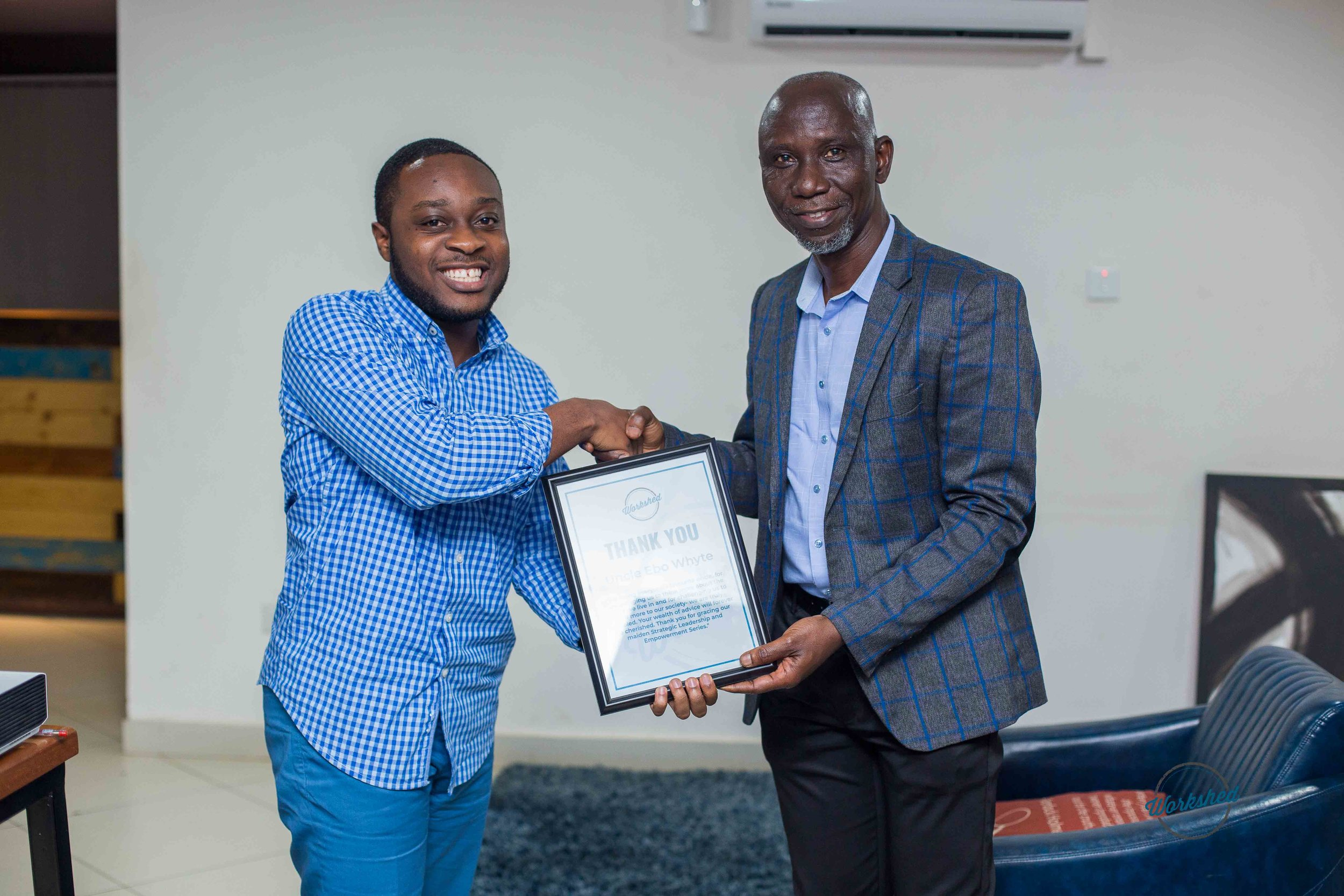 SLES with Uncle Ebo Whyte