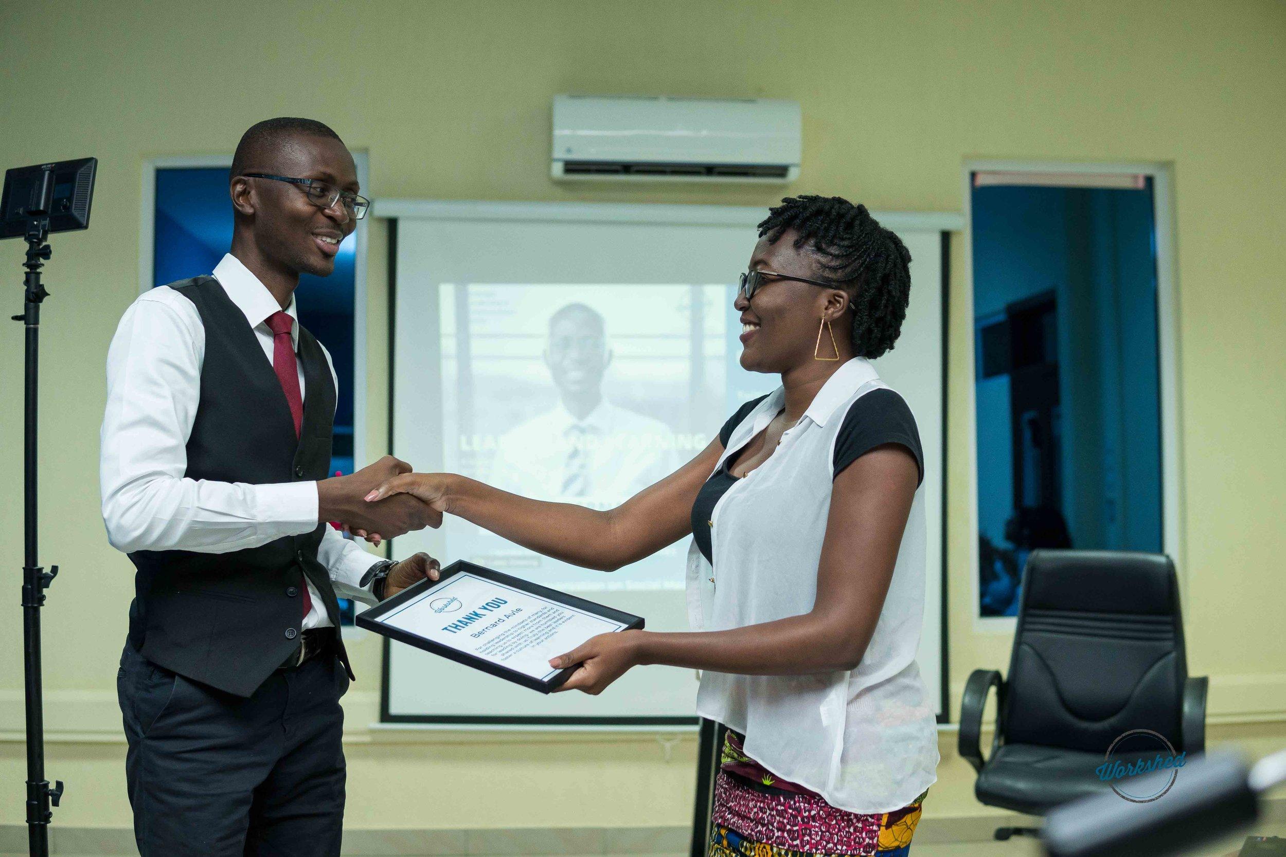 SLES with Bernard Koku Avle