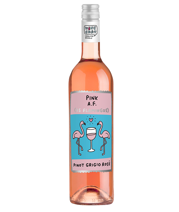 Pink AF Italian Pinot Grigio Rosé.. - Available in store and online at Morrisons