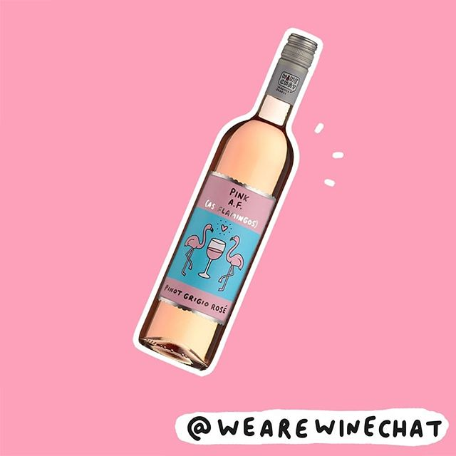 💕AVAILABLE IN @morrisons NOW! 💕 . . #winechat #wearewinechat #wine #new #pinkaf #friyay #winenot #winetime #winelovers #weekendwine #weekend #pink #veronicadearly #morrisons #flamingo