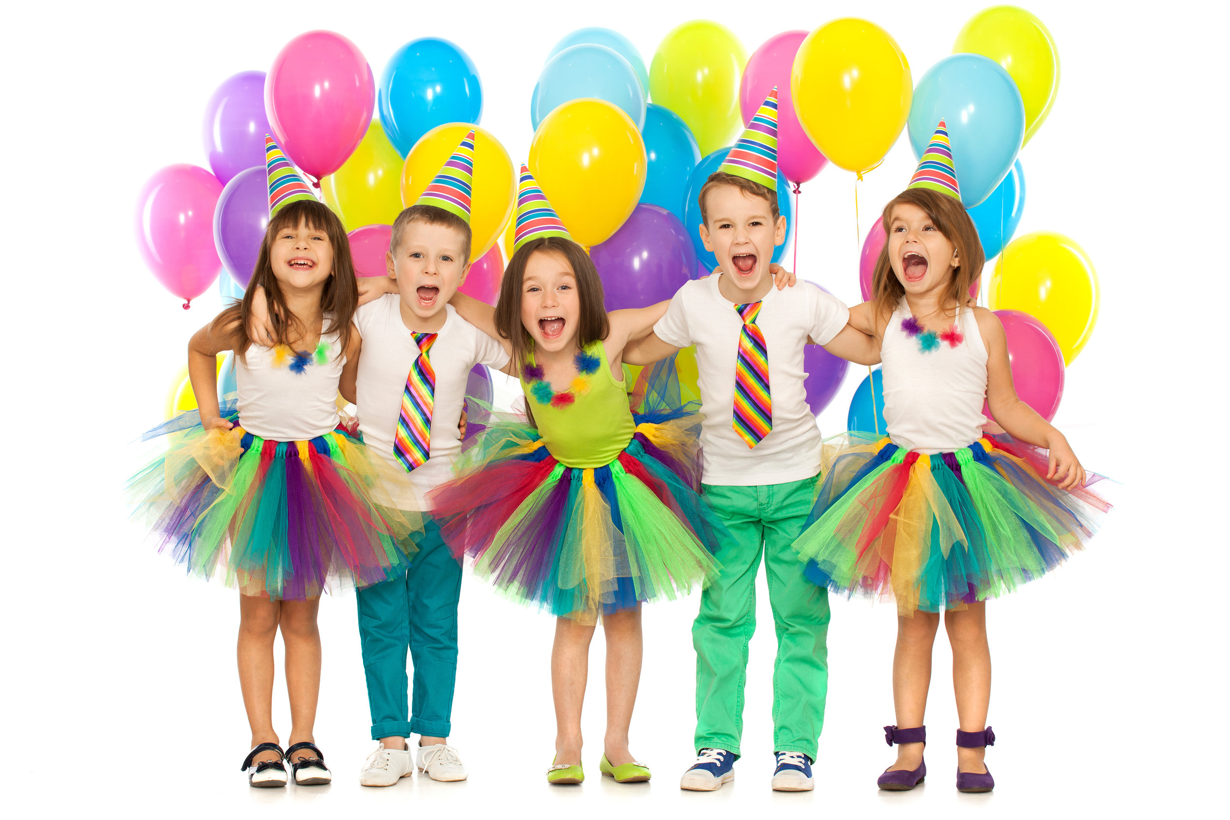 BIRTHDAY PARTIES - Parties are available for ages 4 and older! Kids will enjoy one hour of gym time running, jumping, flipping, playing organized games, and free time with your party host and 30 Min in the lobby for refreshments and cakes. Choose from Open Play or Structured Parties!