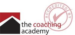 I am a qualified Coach through  The Coaching Academy