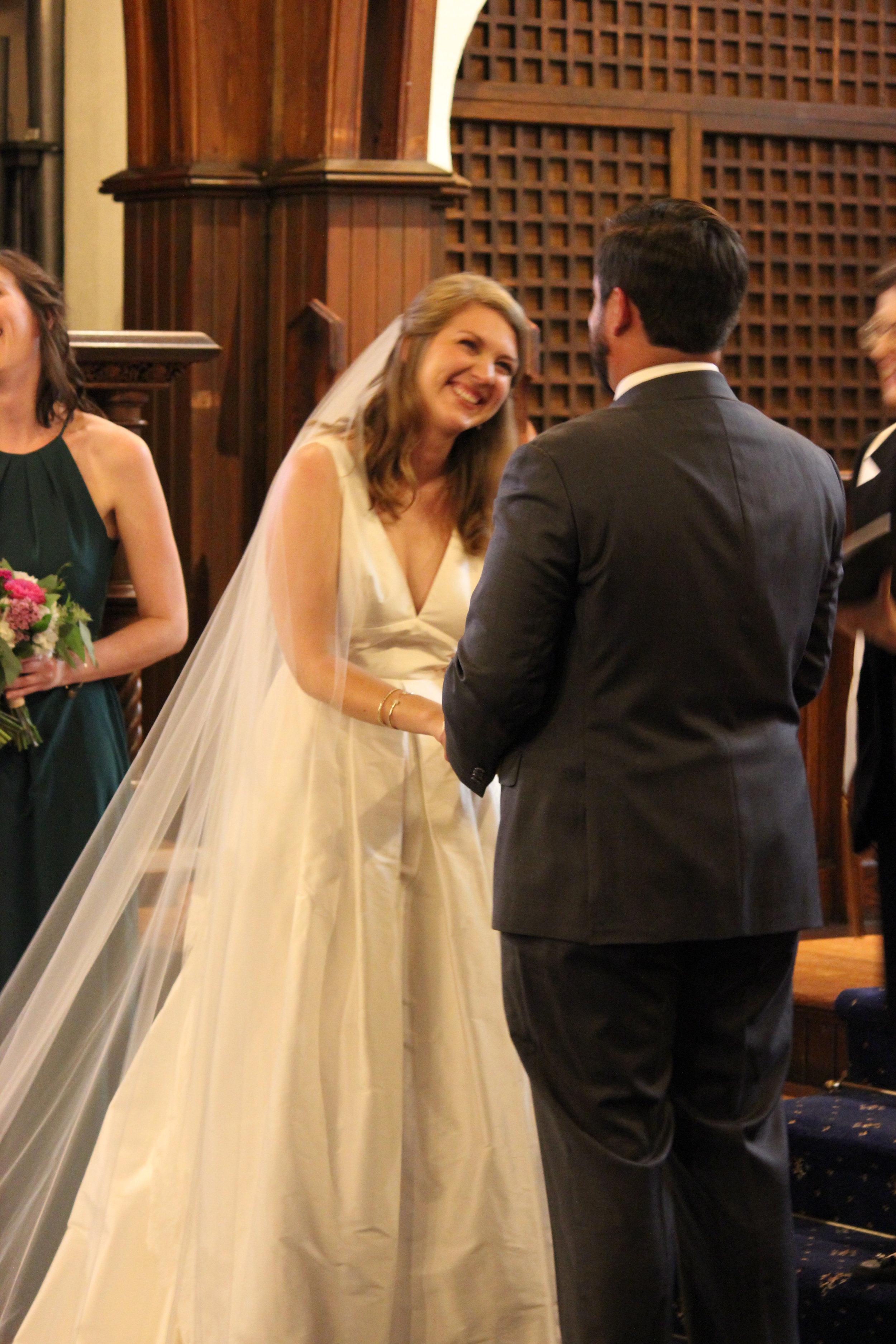 Wedding joy!