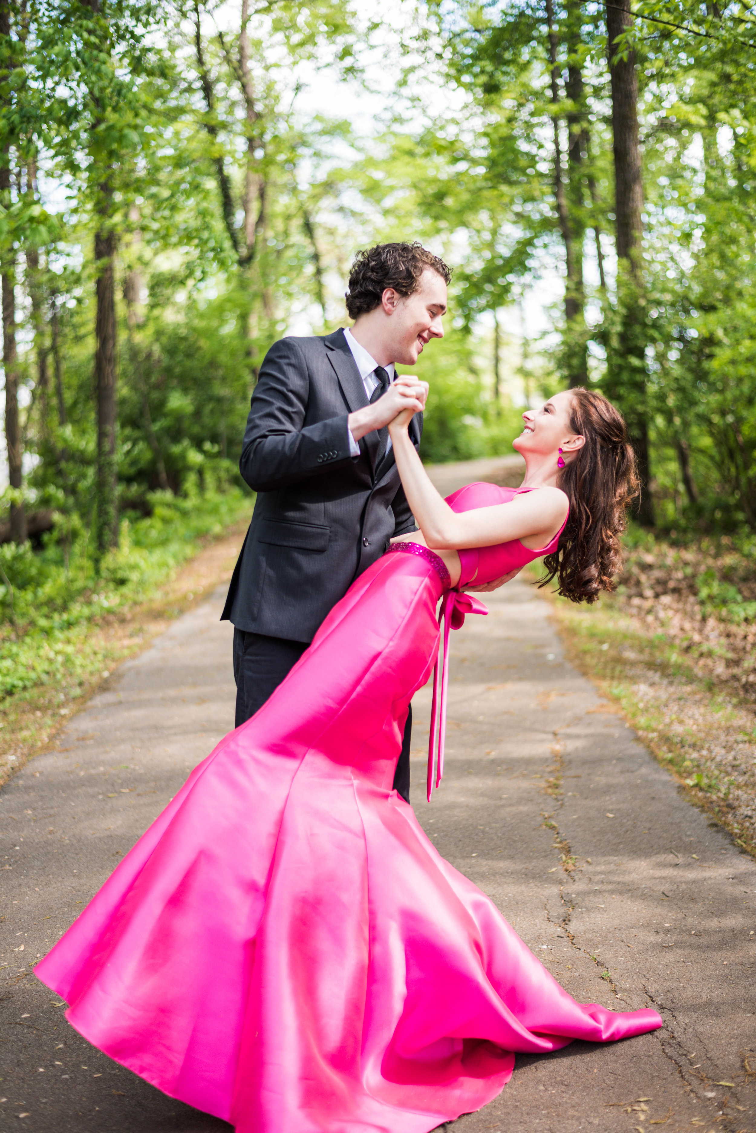 Anna and Dustin's Prom session!