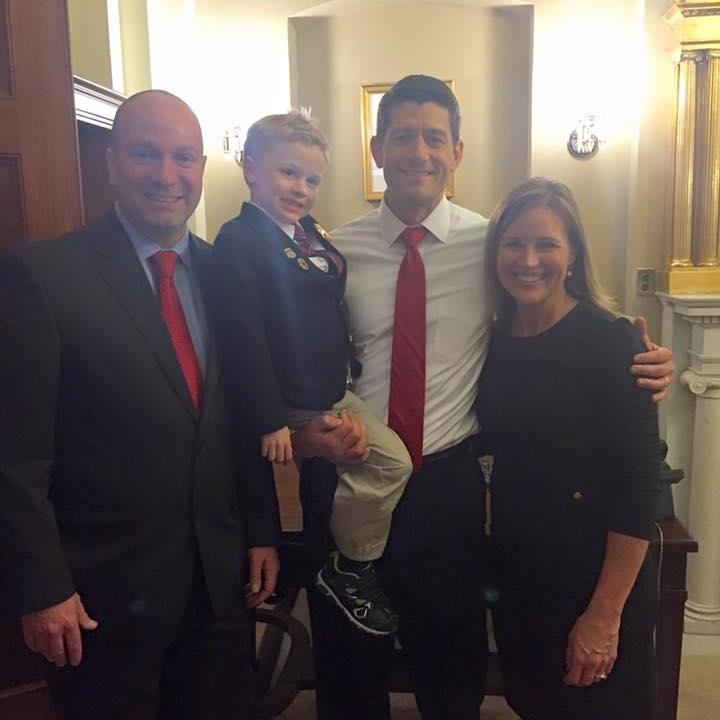With Speaker Paul Ryan
