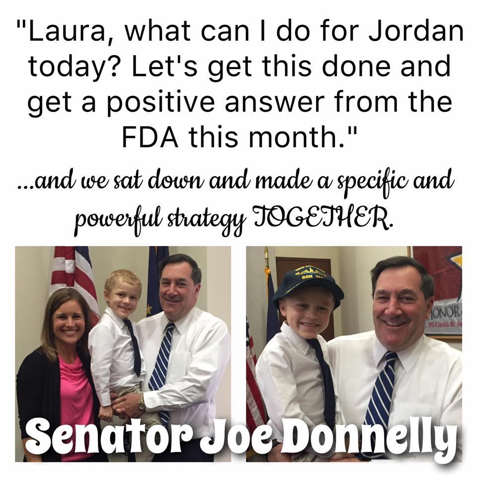 Our Senator, Joe Donnelly