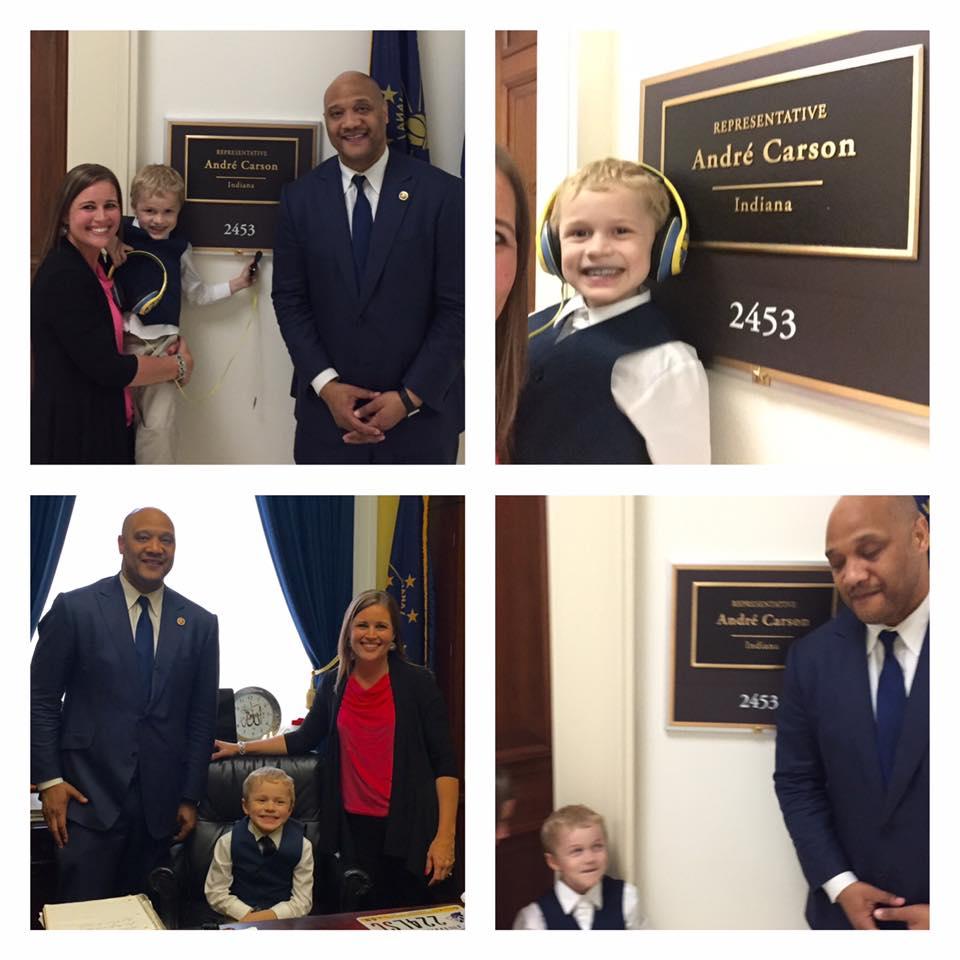 Jordan's Congressman, Andre Carson