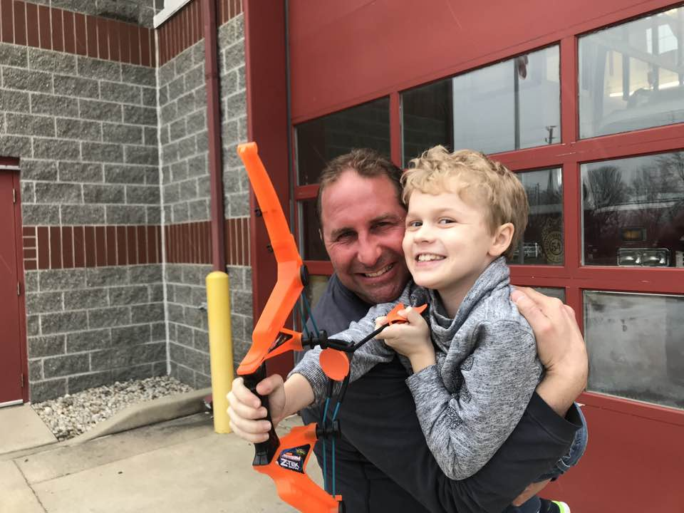 Firefighter Jeff Brown