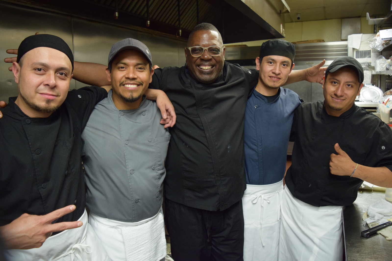 Chef Rylon With The Batter and Berries Crew.JPG