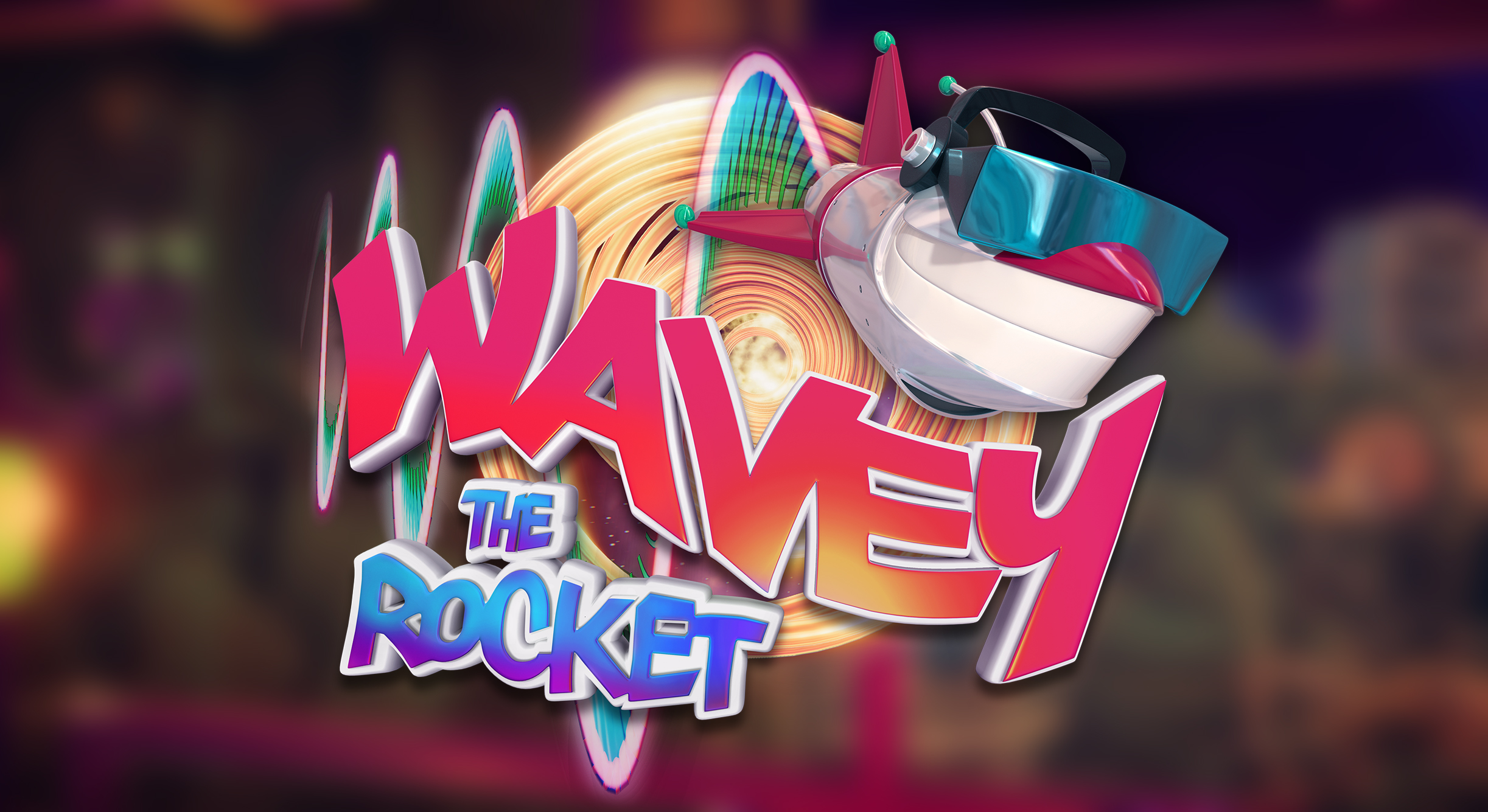 - Guide Wavey the Rocket on his galactic adventure to defeat The Evil2. Control the wave's shape to navigate our hero through a treacherous gauntlet that only Wavey is equipped to deal with. Taking inspiration from early 90s toys, cartoons and games, Wavey the rocket is a visually unique 3d side-scrolling action arcade game with a Gfunk inspired original soundtrack.