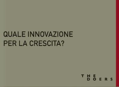 Quale Innovazione per la Crescita? - ↓
