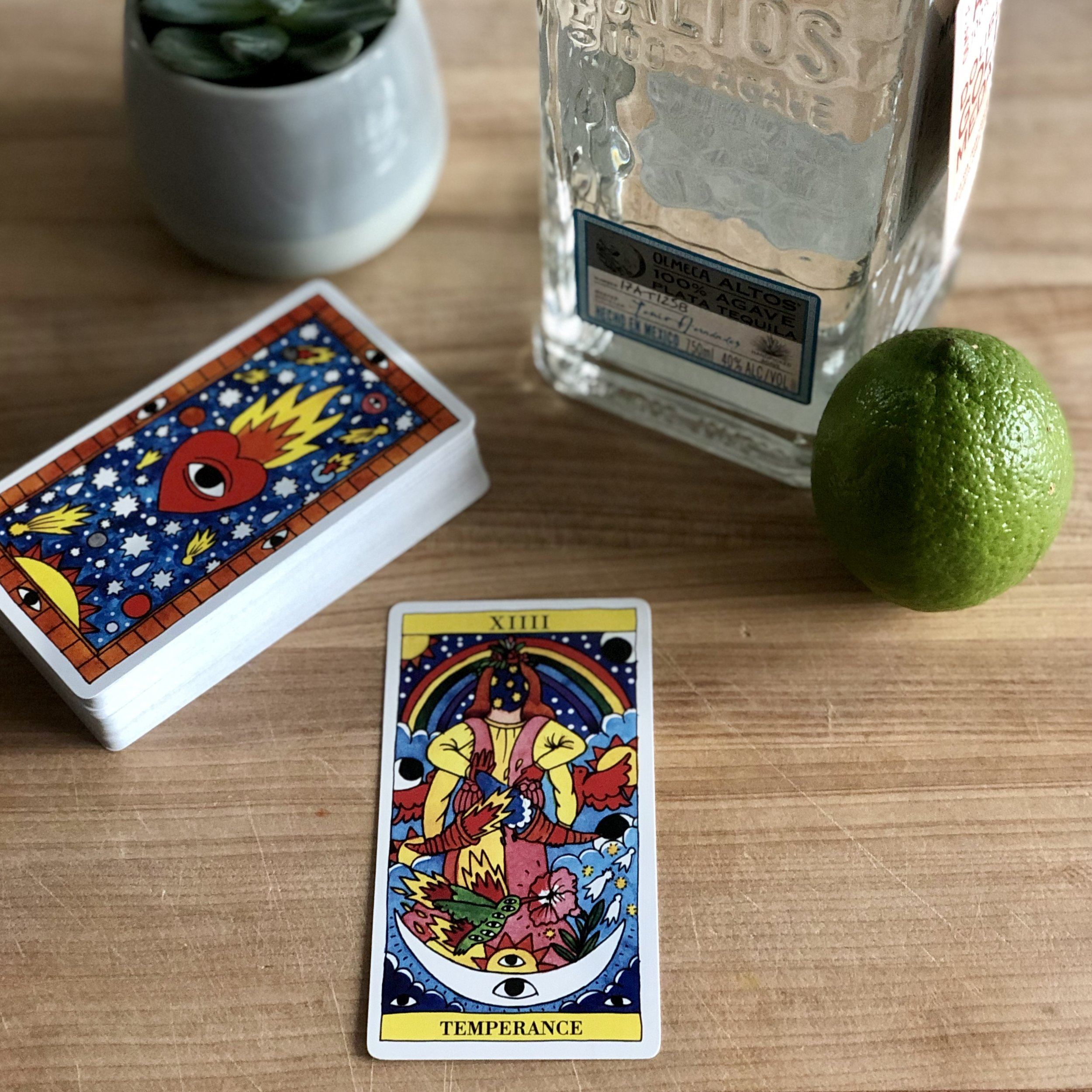 There's nothing temperate about the fiery Tarot del Fuego.