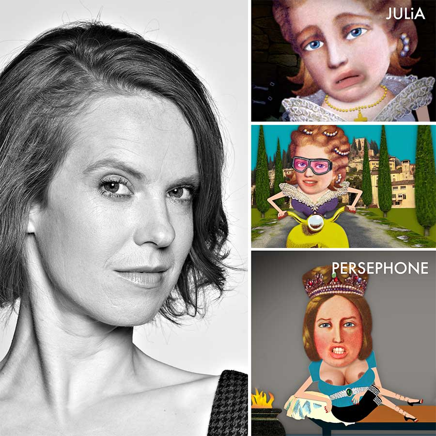 Magdalena Flade  Schauspielerin, Pantomimin - Julia bei ROMEO & JULiA, Persephone bei ORPHEUS & EURYDiKE