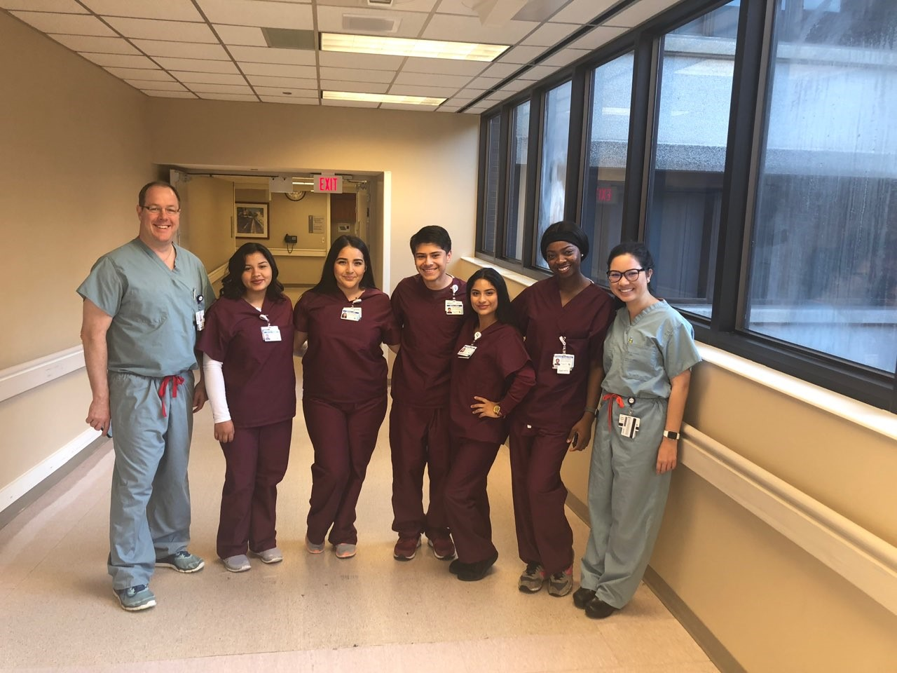 Summer Nursing Internship that is made possible thanks to our partnership with  Houston Methodist Hospital and  CHI St. Luke's Health Hospital.