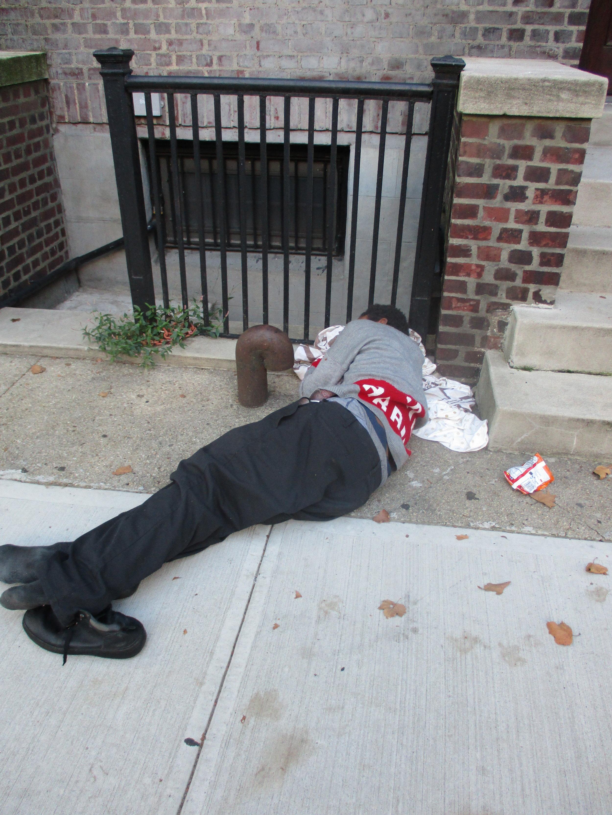 Outside Brooklyn Avenue